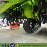 Promoción de arroz paddy Tractor oruga cultivador de trigo en la India