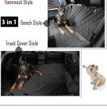 محبوب لباس كتلة سيارة [بك ست كشيون] كلب خارجا على سيارة حصيرة لأنّ عربة كلب كتلة