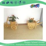 学校の経済的な木の花の表示棚(HG-4109)