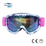 Kundenspezifische UV schützen Schnee-Mobile-Gläser