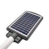Smart - все в одном энергии 20 Вт мини-модуль на солнечной энергии движения 20Вт Светодиодные лампы на улице с оболочки IP65
