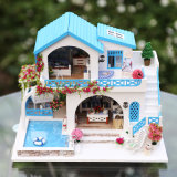 Handmade Craft une réelle qualité meubles de maison de poupée/3D Puzzle Dollhouse de rêve