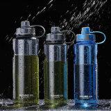 La bottiglia di acqua di plastica di sport di grande capienza con il filtro BPA dal tè libera la bottiglia di plastica