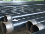 Alcantarillado subterráneo anticorrosión de tubo de acero espiral