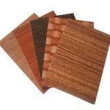 Feuille en aluminium prépeint Grian en bois/prix des bobines