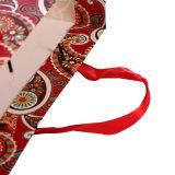 싼 가격을 포장하는 로고에 의하여 인쇄된 선물은 종이 봉지를 도매한다