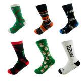 precio de fábrica bajas MOQ de compresión de los hombres calcetines de deporte personalizadas