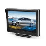 5 2ビデオ入力が付いている駐車モニタを逆転させるインチTFT LCDスクリーン車のモニタHD800*480車