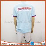 熱い販売の耐久のロゴによって印刷される競争のTシャツ