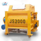 Dispone de alimentación de la fábrica de la máquina de construcción Js2000 Cemento eléctrica hormigonera