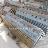 鋼鉄タワーのためのCNCの金属板の穴の打つ機械