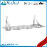 Tipo mensola d'attaccatura del tubo della strumentazione della cucina del supporto della parete del metallo dell'acciaio inossidabile per le merci di memoria