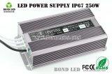 Alimentazione elettrica impermeabile di potere Driver/LED di 250W LED IP67