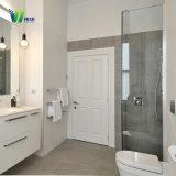 Salle de bains en verre trempé clair de sécurité porte à la salle de douche