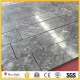 Customeizeは灰色の大理石のタイル、灰色の銀製のミンクの大理石のフロアーリングを磨いた