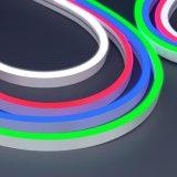 Mini ultra delgada de silicio comestibles 12/24 V DC Neon LED 8mm de ancho RoHS CE