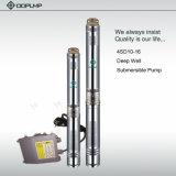4inch 4HP Edelstahl-mehrstufige versenkbare Pumpe