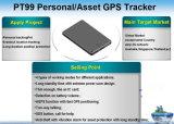 Venda por grosso de GPS pessoal Tracker Rastreador de ativos com bateria de longa duração Sos (PT99-JU)