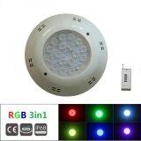 18X3w impermeabilizzano gli indicatori luminosi subacquei della piscina del LED