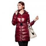 Женщин зимние куртки длинный наружный износ дамы вниз нанесите на