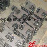 Pezzo meccanico di CNC delle parti di metallo di alta precisione sia che delle parti della plastica