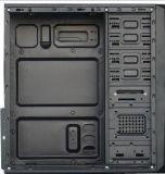 O design do painel de frio da caixa do computador desktop ATX torre completo jogo de PC.