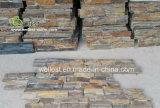 自然な錆ついたZの形のセメントベース棚の石