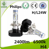 Philips H4 Auto LED Faros 24W 2400lm