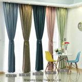Nouveau mode d'interdiction de rideau de tissu de polyester coton coussin