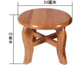 固体木の円形の腰掛け(M-X2106)