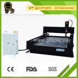 Mármore do eixo refrigerar de água da venda 5.5kw de Jinan/granito quente/router de pedra do CNC