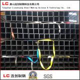 Q235Bの黒い正方形か長方形鋼管