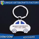 De Gift Keychain DIY van de Herinnering van het Metaal van het Embleem van de Douane van de bevordering
