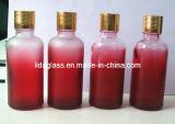La prestation de 50ml en verre dépoli bouteille de parfum de gradient (LDX-11)