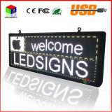 P5 SMD3528 Display Panel pubblicità esterna RGB 7 colori Pubblicità Formato: 103cmx39cm (40''x15 '') LED segno