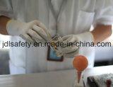Серым перчатки связанные нейлоном работая с черным Breathable покрытием нитрила пены (N1566BRF)