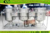 Multifunctionele sesam, pinda, de machineraffinaderij van de zonnebloemenz. olie