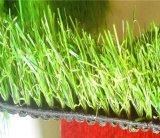 二色の快適な泥炭の芝生の人工的なフットボールの草