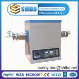 De vacuüm Oven van de Buis, Oven Op hoge temperatuur van de Buis buis-1600