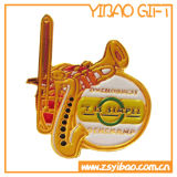 Emblema do metal do ouro Pin com projeto do cliente (YB-MP-52)