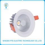alto dispositivo de iluminación del lumen de 40W 4000lm LED impermeable ahuecado Downlight IP67