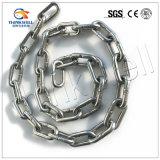 Maillon de chaîne soudé d'acier inoxydable du prix concurrentiel Ss304