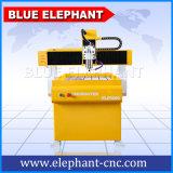 소형 3D CNC 대패 6090 4 축선, 광고업을%s CNC 조각 기계 무쇠