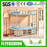 Школа общежития кровати металлическая рама двухъярусная кровать с ящиком (BD-72)