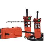 Télécommandes à télécommande de grue de F21-4s/sans fil par radio résistantes