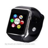 Téléphone intelligent coloré de montre-bracelet de Bluetooth avec la fente A1 de carte SIM