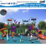 Cour de jeu extérieure HD-Kq50024A de glissière d'enfants de série d'étrangers