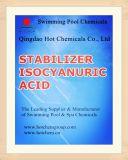 El 98,5% ácido Isocyanuric estabilizador (cloro estabilizado) Einecs 203-618-0.