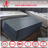 規則的なスパンコール亜鉛屋根ふきによって電流を通される波形鉄板シート