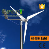 Banheira de venda de eixo horizontal de 1 kw turbina eólica para Home